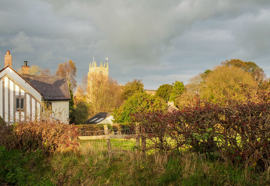 <h2>Autumn Scene 2019</h2><div class='slide-content'>Just in case you missed it the first time! view from Wyche Road</div>