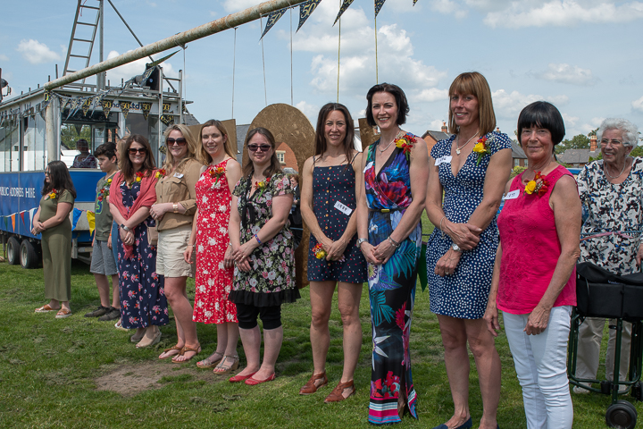<h2>Bunbury village Day 2019</h2><div class='slide-content'>Many of the previous Rose Queens attended the 50th Anniversary Village Day</div>