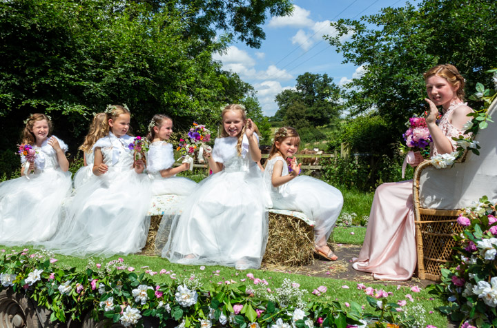 <h2>Bunbury village Day 2019</h2><div class='slide-content'><p><span class='highlight'>The 2019 Rose Queen, Rose Hayward and retinue</span></p></div>